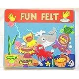 Large Children's Kids Under The Sea Fish Turtle Fuzzy Felt Creative Scene