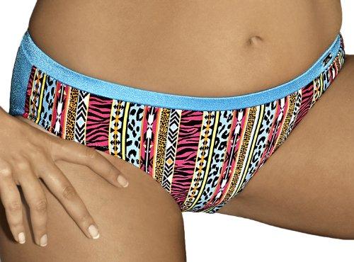 AVA Slip per Bikini SF2 (Blu, L)