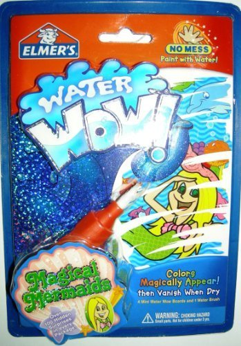Water Wow Magical Mermaids by Elmers (English Manual)