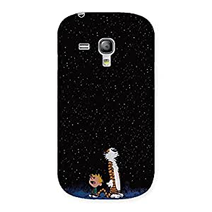 Enticing Counting Stars Multicolor Back Case Cover for Galaxy S3 Mini