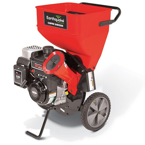 Earthquake 9060300 Chipper Shredder with 205cc 4-Cycle Briggs and Stratton Engine (Gas Wood Chipper compare prices)