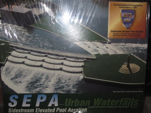 SEPA Urban Waterfalls 1000 Piece Jigsaw Puzzle