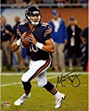 """Mitchell Trubisky Chicago Bears Autographed 8"""" x 10"""" Roll Out Photograph - Fanatics Authentic Certified"""