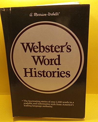 Merriam Webster's Word Histories