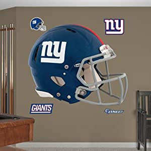 NFL New York Giants Helmet Wall Graphics by Fathead
