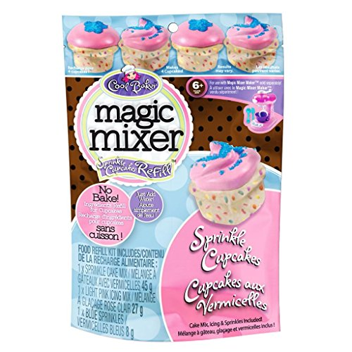 Cool Baker Magic Mixer Refill Kit - Sprinkle Cupcakes (Magic Mixers compare prices)