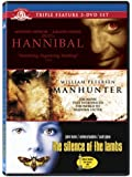 Hannibal Lecter Triple Feature (The Silence of the Lambs / Hannibal / Manhunter) [Import]