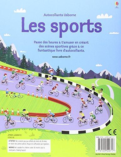 Les sports (Autocollants Usborne)