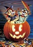 108ピース かぼちゃのびっくり箱(チップ&デール)<光る> D-108-990