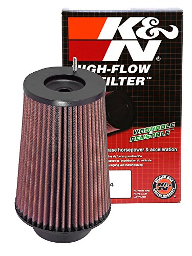 K&N RC-4780 High Performance Universal Clamp-on Chrome Air Filter