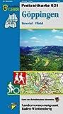 Göppingen, Remstal Filstal: Karte des Schwäbischen Albvereins (Freizeitkarten 1:50000)
