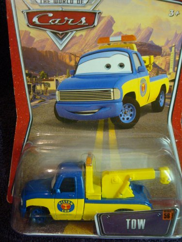 Disney the World of Cars #56 Tow Pixar Truck - 1