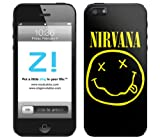 Music Skins iPhone5s/5c/5用スキンシール Nirvana - Smiley Face