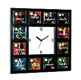 12 Aurora Movie Monster 1972 Model Kits Set Clock