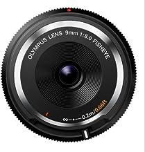 Comprar Olympus 9 mm f:8 Fisheye - Objetivo para micro cuatro tercios (Diámetro de filtro 56 mm), negro