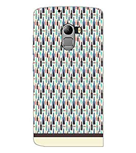 PrintDhaba Bottle Pattern D-1942 Back Case Cover for LENOVO K4 NOTE A7010a48 (Multi-Coloured)