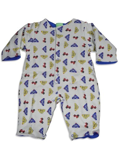 Snopea - Baby Boys Long Sleeve Coverall, Ivory 25811-9Months front-16262