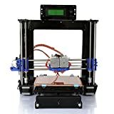 Ridgeyard 220V Acryl Prusa I3 Dual Extruder MK8 3D Drucker DIY Kit MK2A Heatbed DC12V