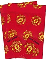 Manchester United Football Club Gift Wrap, 2 Sheets & 2 Tags