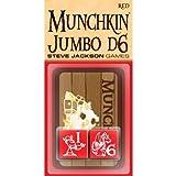 Munchkin Jumbo D6 (Red)
