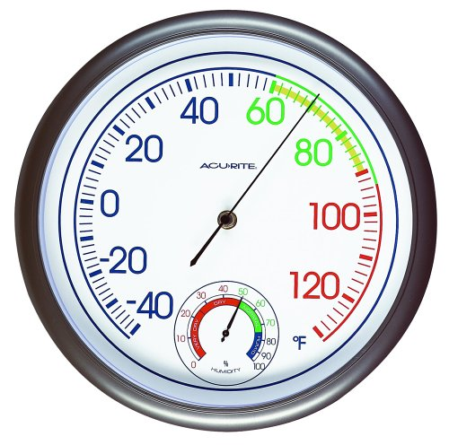 Chaney Instrument 11-Inch Thermometer/Hygrometer Combo