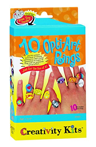 Creativity For Kids 10 OptiArt Rings