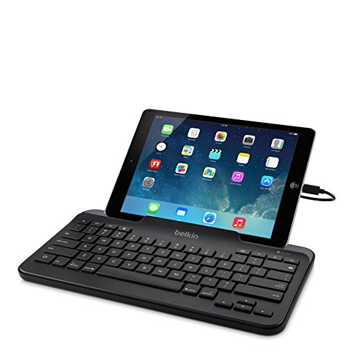 belkin apple mfi certified wired tablet keyboard with stand import it all. Black Bedroom Furniture Sets. Home Design Ideas
