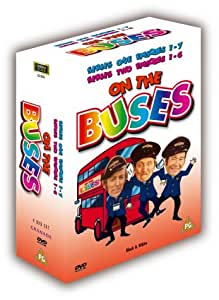 On The Buses - Series 1 and 2 (4 Disc Box Set) [DVD] [1969]