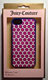 Juicy Couture Polka Dot Silicone Case Cover For Apple iPhone 5