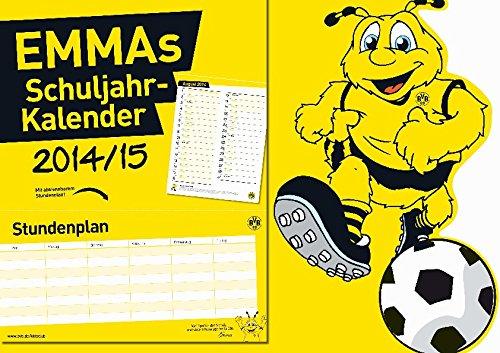 Borussia Dortmund: EMMAs Schuljahr-Kalender 2014/15, Buch