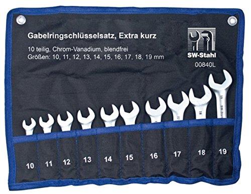 SW-Stahl-Gabelringschlsselsatz-Extra-kurz-10-teilig-00840L
