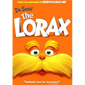 Dr. Seuss' The Lorax (2012), Barbie The Princess & The Popstar (DVD)