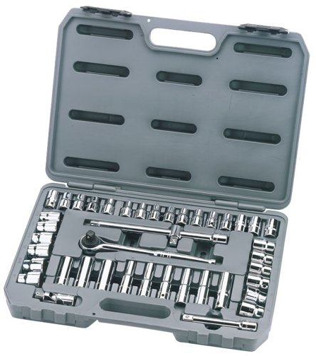 Draper Silverdrive 29101 42-Piece Metric/AF chrome vanadium Socket Set