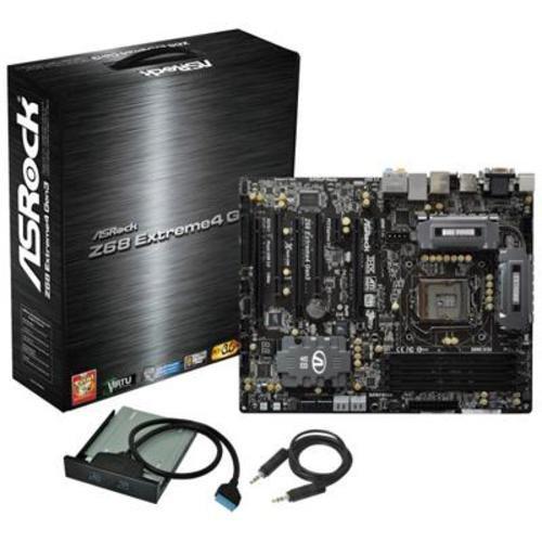 ASRock Z68 Extreme4 Gen3 Motherboard (Socket 1155, DDR3, USB 3.0, Instant Boot Technology)