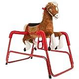 Rockin' Rider Lucky Talking Plush Spring Horse