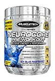MuscleTech Pro Series Neurocore Supplement, Icy Blue Raspberry 8.99 oz
