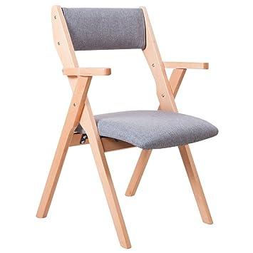 HWF Tumbonas Silla plegable de madera / silla de respaldo / silla Relax / silla plegable multifunción (9 colores para elegir) ( Color : I )