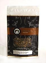 Mahamosa Chai Black Tea Blend and Tea Infuser Set 2 oz Vanilla Mint Chai Black Tea 1 Stainless Steel