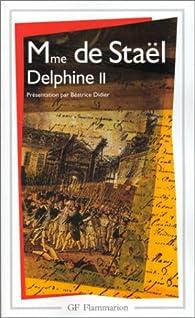 Delphine, tome 2 par Madame de Sta�l
