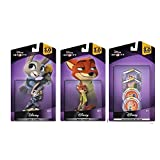 Disney Infinity 3 Zootopia Themed Bundle Judy Hopps Nick Wilde Zootopia Disk Pack
