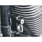 キジマ(KIJIMA) ヘルメットロック(車種別) ブラック Harley‐davidson:スポーツスター('04~)用 HD-05140