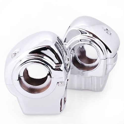 Chrome Switch Housings Cover Sliver Switch Control House For 1996-later Harley Davidson Electra Glide FLHTCU/I & FLTCU models 1998-later Road Glide FLTR/I models 2002-later Road King FLHRCI models 2002-later Road King FLHR/I models equipped with Cruise C