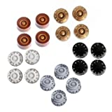 Kmise Electric Guitar Speed Knobs For Gibson Les Paul Knob Parts Replacement (Control Knobs 20 Pcs)