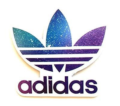Adidas Trefoil Galaxy Logo Classic Original Decal Stickers
