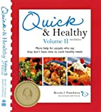 51A1EoEsQiL. SL160  Quick &amp; Healthy Volume II: More Help for People Who Say They Dont Have Time to Cook Healthy Meals, 2nd Edition