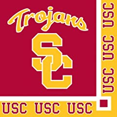 Buy Creative Converting USC Trojans Beverage Napkins (20 Count) by Creative Converting