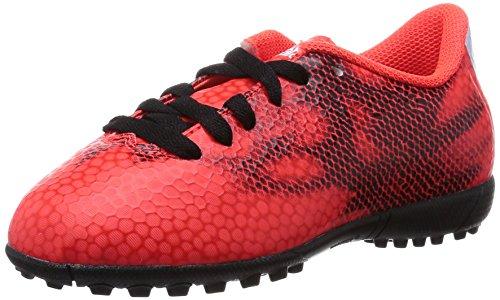 adidas Unisex, bambini F5 Tf J Scarpe da Calcio Rosso Size: 33