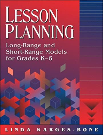 lesson planning long range and short range models for grades k-6 book cover