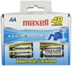 Maxell LR6 AA Cell 48 Pack Box Batter...