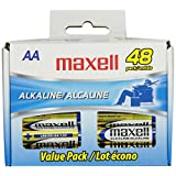 Maxell LR6 AA Cell 48 Pack Box Battery (723443) ~ Maxell